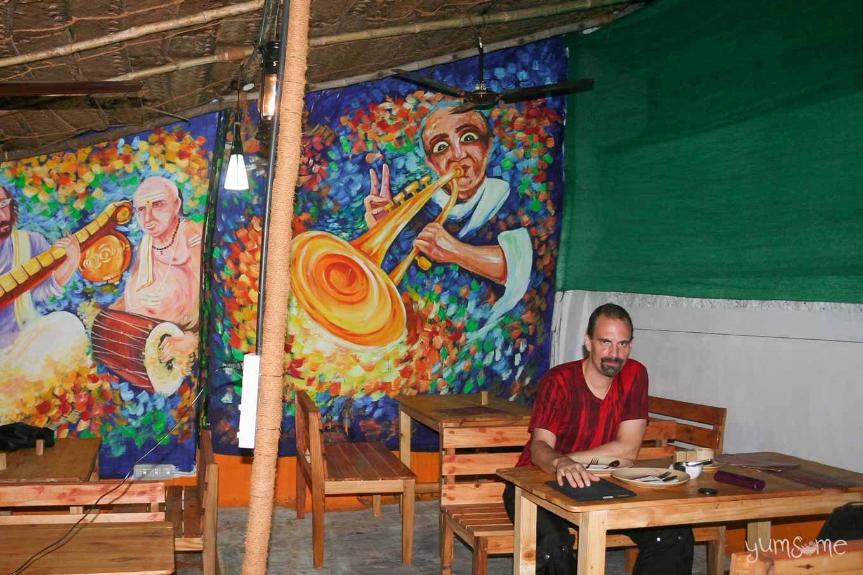 Café Terazza in Fort Kochi, India.